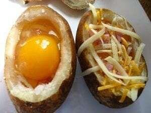 Gevulde aardappels