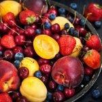 Havermoutcake met Vers Fruit