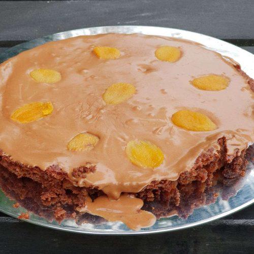 Abrikozen Cognac Brownies