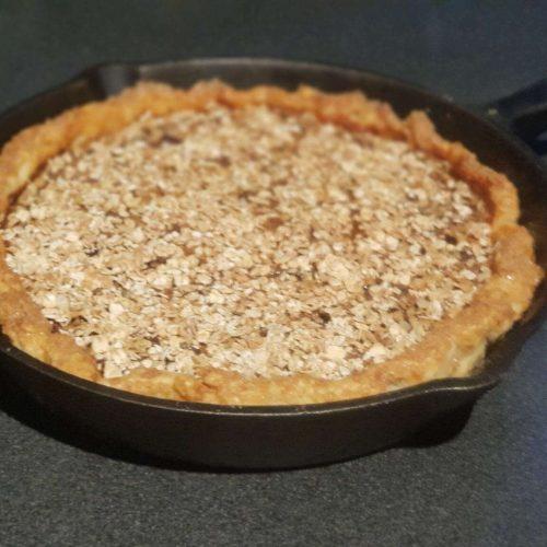 Pie met Havermout en Chocolade