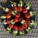 Pomodoro mozzarella basilico dal bastone